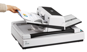 Fujitsu FI-6750S Scanner with Paperstream